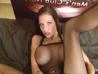 amateur Real German Hooker No Condom Anal with Creampie in Ass hardcore