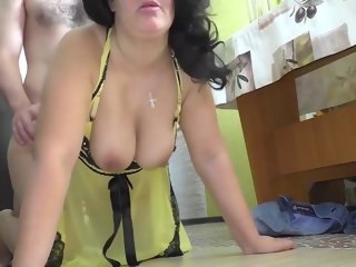 mom Mom always knows the best. Mature stepmom has anal sex mature