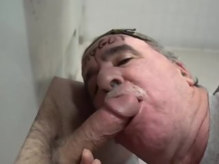 cock COCK AND CUM HUNGRY GLORYHOLE AND UNDERSTALL COCK SUCKING FAGGOTS! hungry
