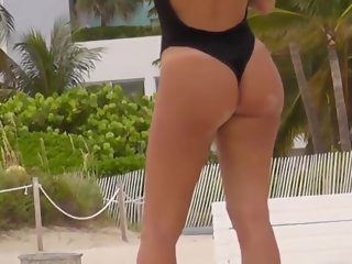 candid Candid hot girls perfect bootys in sexy bikinis at the beach perfect