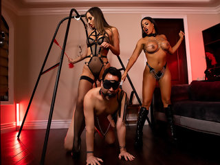 dommes The Dommes Next Door: Double Dommed Free Video With Luna Star - BRAZZERS double