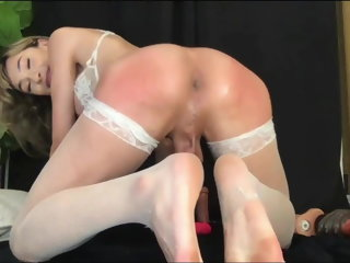 amateur (shemale) Shemale Solo Does It All big tits (shemale)