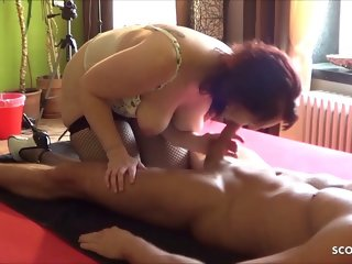 amateur Dirty German Ugly Mother Fuck and Rimjob Young Step Son hardcore