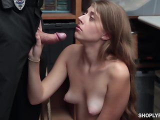 cocks Alyce Anderson is not as experienced shoplifter as she is when it comes to sucking cocks comes