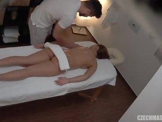 liked Red haired lady got a relaxing massage and a casual fuck from a guy she liked fuck