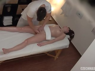 excuse Horny babe knows where to go to get fucked and cover it with a massage excuse cover