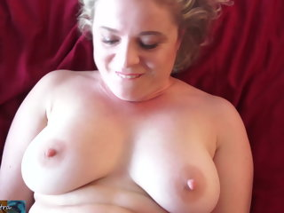 amateur Stepmom wants to get fucked in the ass blowjob