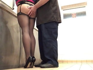 amateur (gay) A truck driver catches me in public toilets 2020 crossdresser (gay)