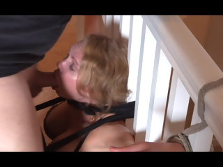 ass licking slave Bondage Facefuck and Pussy Licking licking
