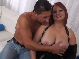 kiara Kiara Rizzi - Mature Italian Bbw Gets Her Asshole Plowed mature