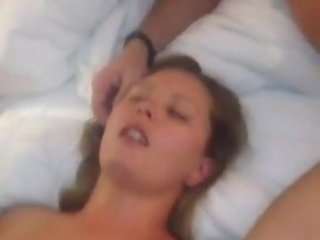 filming Gangbang slut wife getting multiple cumshots while husband films gangbanged