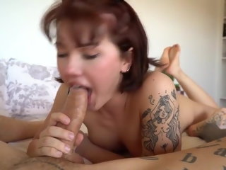big cock (shemale) SissySandra98 shemale fucks girl (shemale)