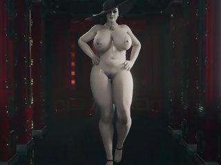hentai Lady Alcina Dimitrescu Jodess 60 fps