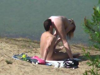 lake A Real Couple Joes To Fuck At The Lake! couple