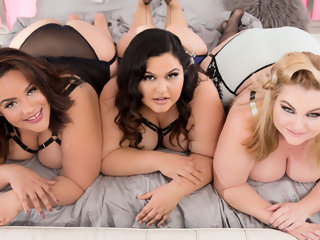 bbw Rare BBW Orgy With 3 Oversized Cuties And A Hung Gentleman group sex