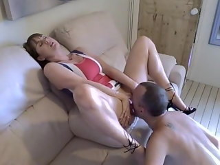 brunette Afternoon Delight And Creampie mature