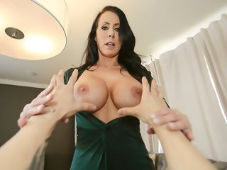 brunette MYLF - Hot Stepmom Lets Me Grab Her Tits hardcore
