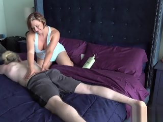 mom The Step Mom Son Massage Routine massage
