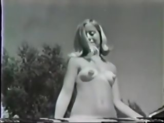 vintage Vintage Sexy Hairy Nudists at Pool hairy