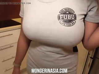 60 fps Asian Maid milf